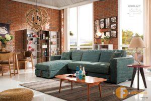 Sofa giường thông minh nhập khẩu cao cấp mang đến cho không gian cảm hứng ngập tràn