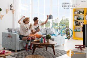 Sofa giường thông minh đẹp với kiểu dáng trẻ trung, hiện đại phù hợp dành cho không gian văn phòng