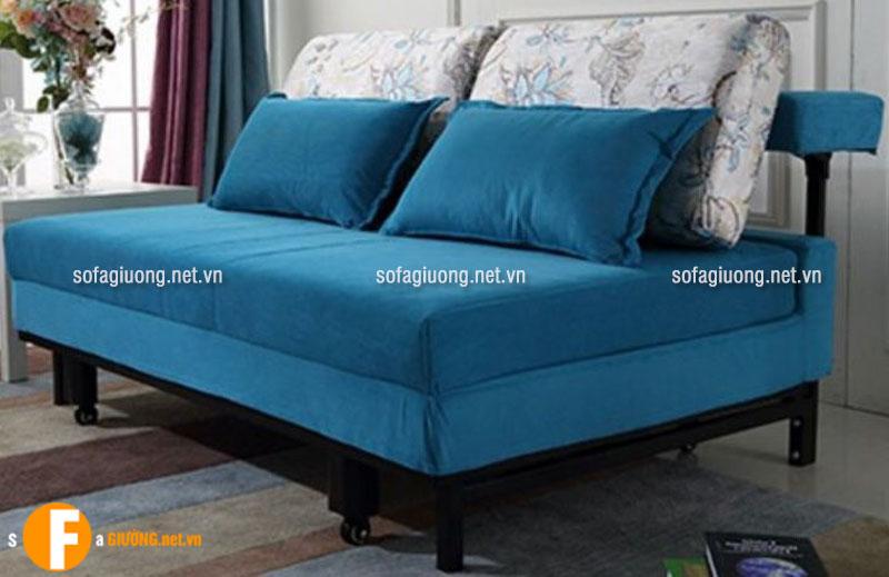 Ghế sofa giường đa năng có bánh xe nhỏ