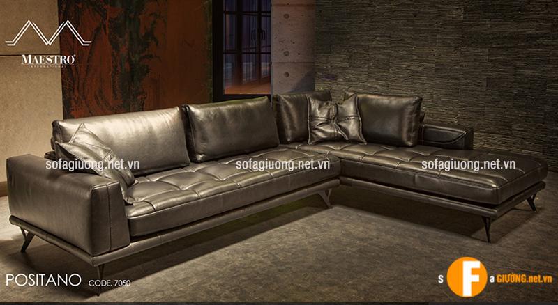 Ghế sofa da bò thật nhập khẩu