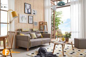 Sofa giường phòng khách thiết kế nhỏ gọn tiện lợi
