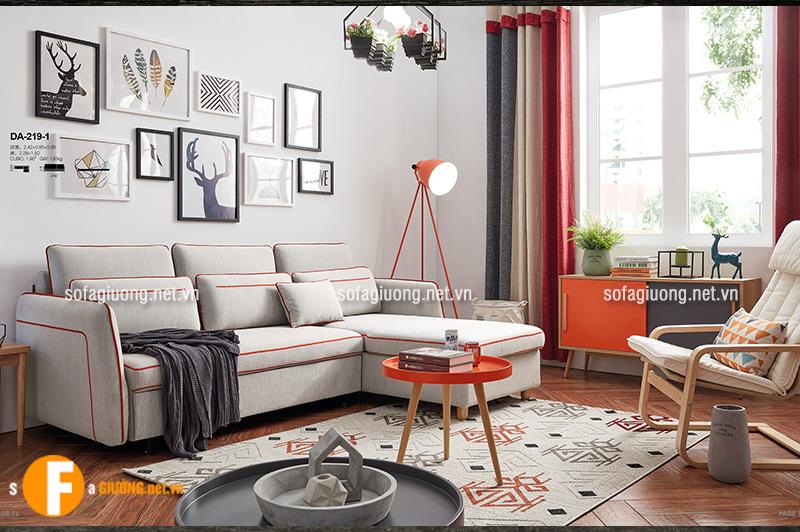 Ghế sofa giường thiết kế đa năng, nhỏ gọn dành cho phòng khách chung cư