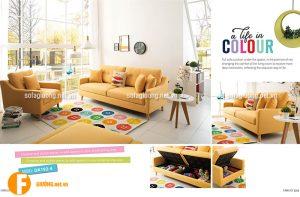 Ghế sofa giường đa năng cho phòng khách chung cư