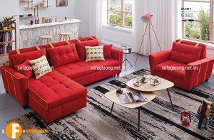 Sofa giường với góc L rộng rãi, chăm sóc cho giấc ngủ của bạn