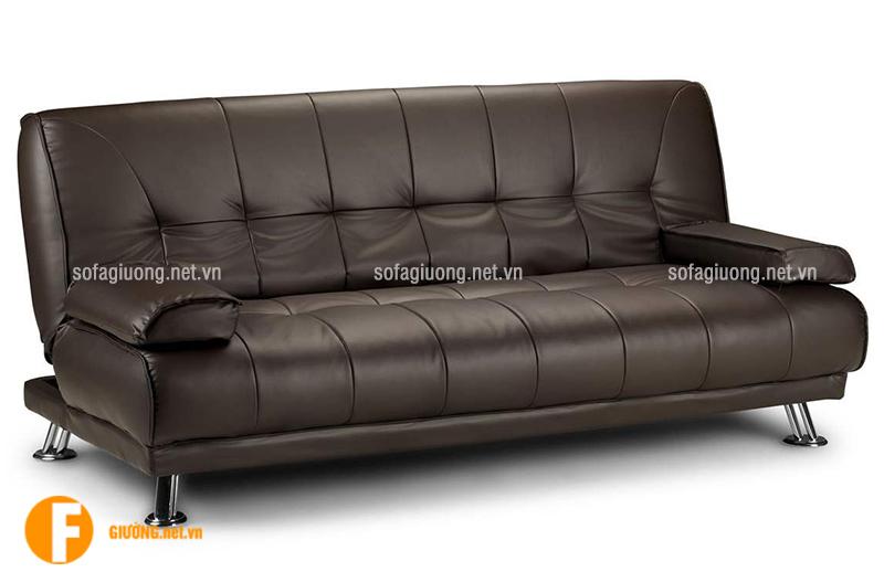 Ghế sofa giường thông minh bằng da thật