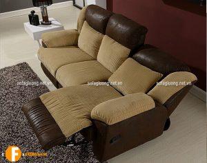 Ghế sofa thư giãn thiết kế dạng ba tiện dụng cho nhà nhỏ
